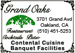 Grand Oaks Resturant - Cocktails, Contential Cuisine and Banquet Facilities