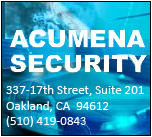 Acumena Security - Proud Sponsors of the Lawmen