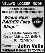 Officially Licensed Raider Merchandise In Castro Valley